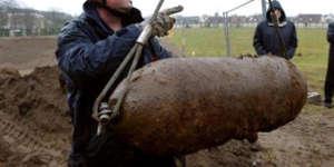 Une bombe américaine de 1945 en Allemagne