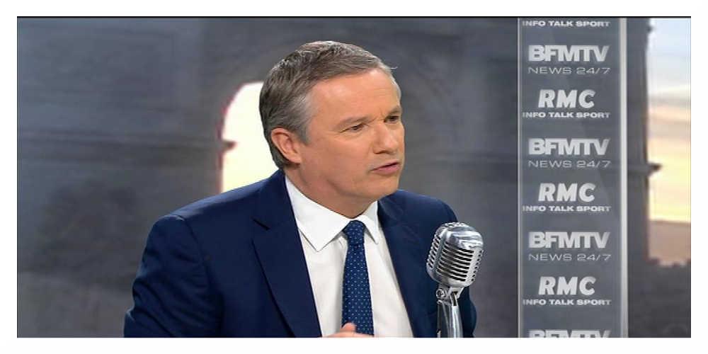 Présidentielle : Nicolas Dupont-Aignan