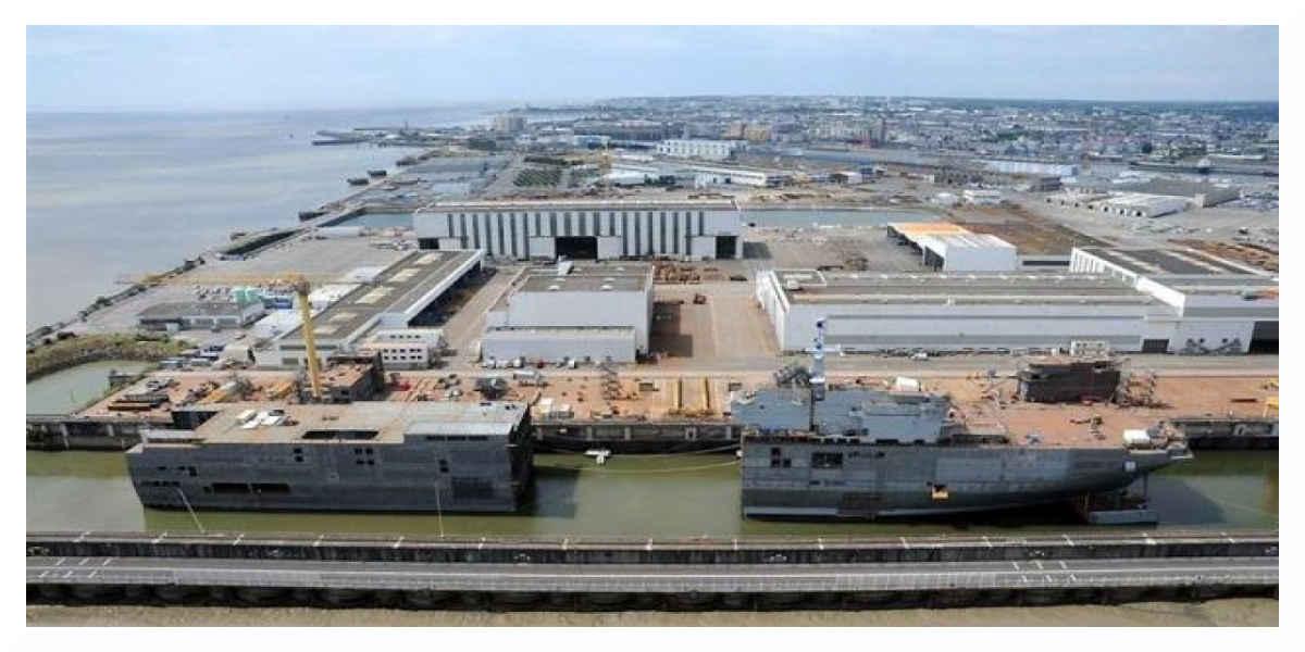 L'Etat a décidé de nationaliser les chantiers navals de Saint-Nazaire