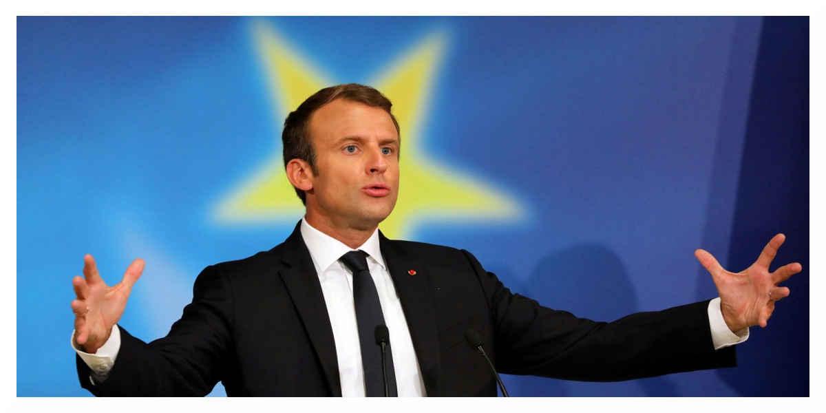 Macron se rend à Davos en dépit de la caricature du président des riches