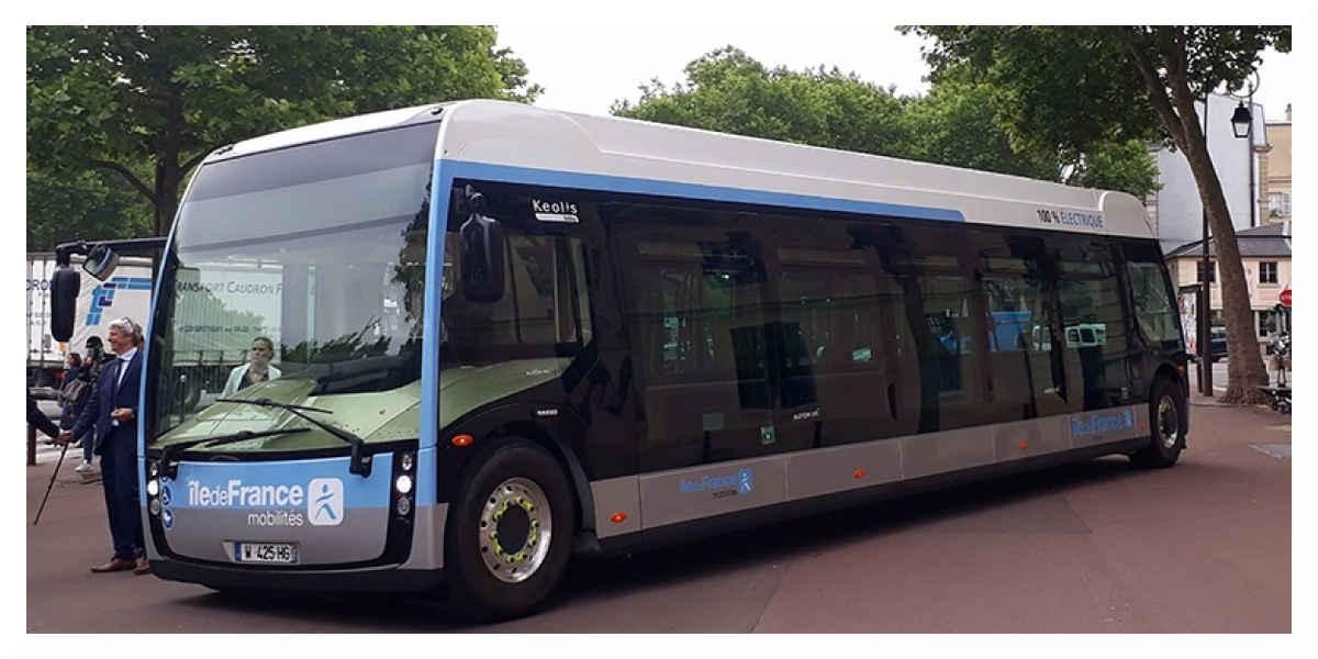 Ile-de-France :  un appel d'offres pour 250 à 1.000 bus électriques