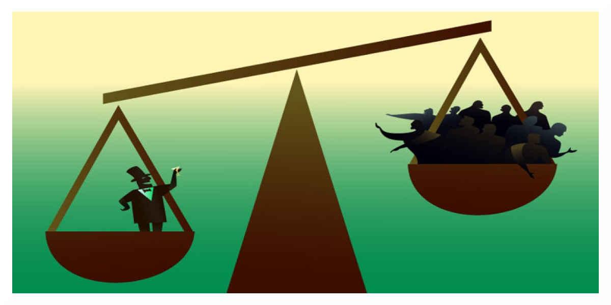En 2017, les inégalités de richesse se sont encore creusées