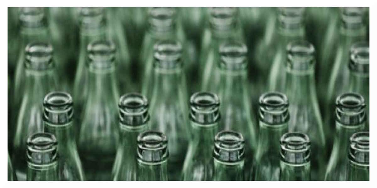 Laver des bouteilles en verres