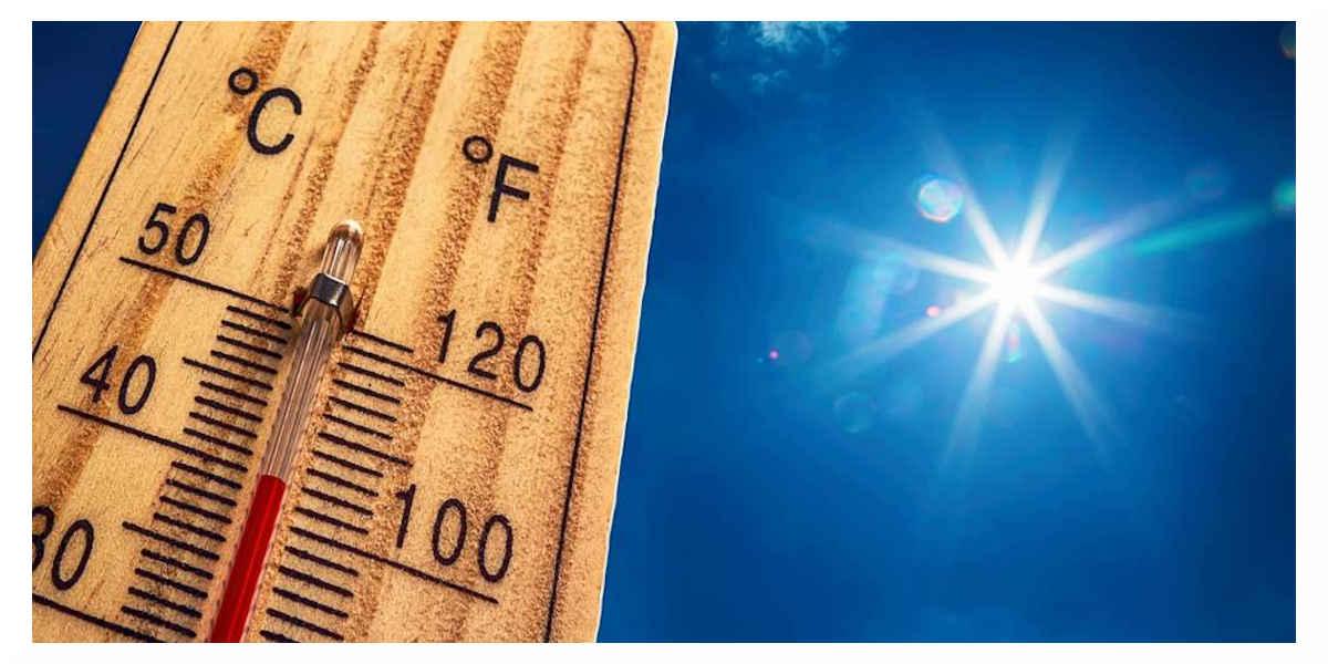 Hausse des température