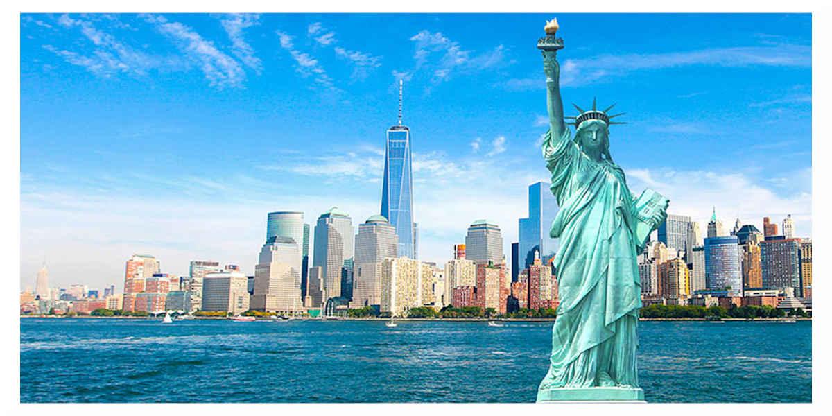 Etats-Unis, statue de la liberté