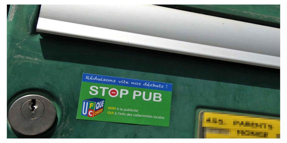 Pub boite aux lettres
