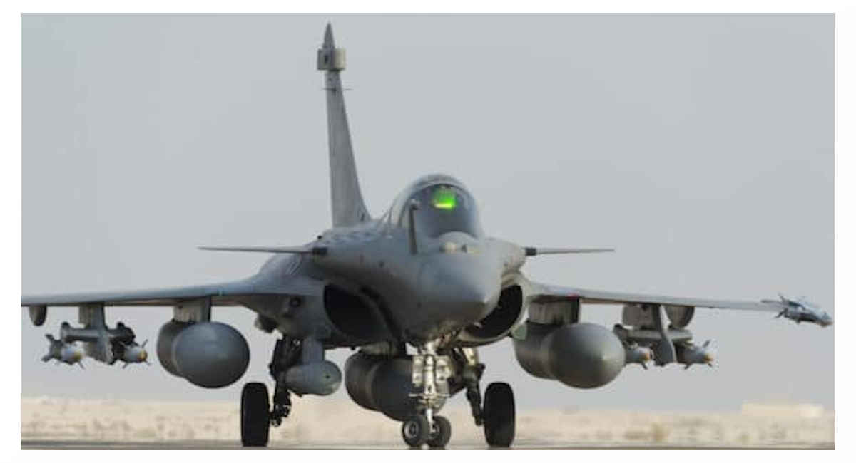 Avion Le Rafale de Dassault