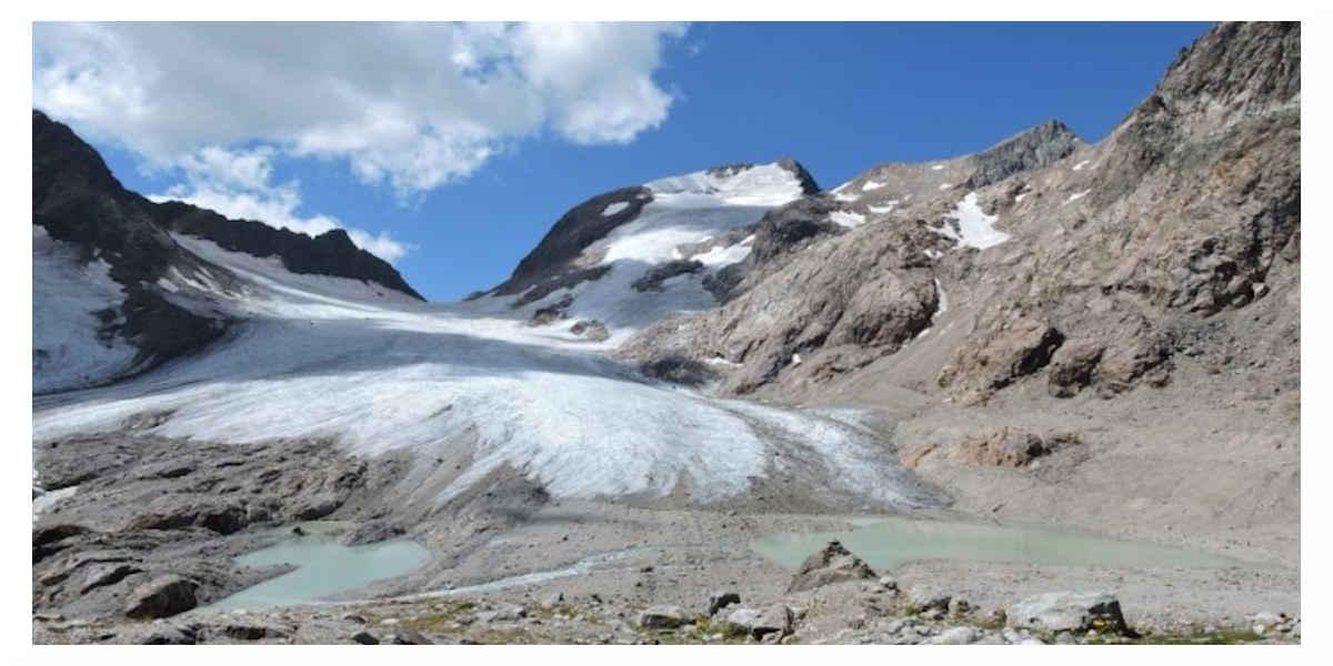 Glacier des Alpes