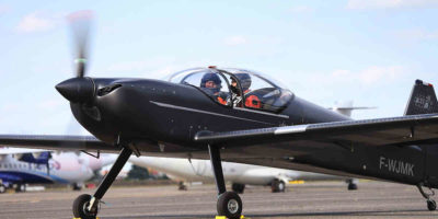 Installée à Toulouse, Aura Aéro inaugure un avion de 19 places électriques