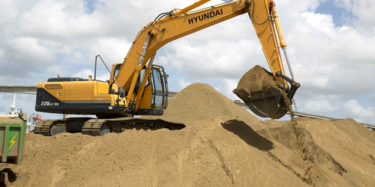 Y aura-t-il dans les prochaines années une pénurie de sable de construction ?