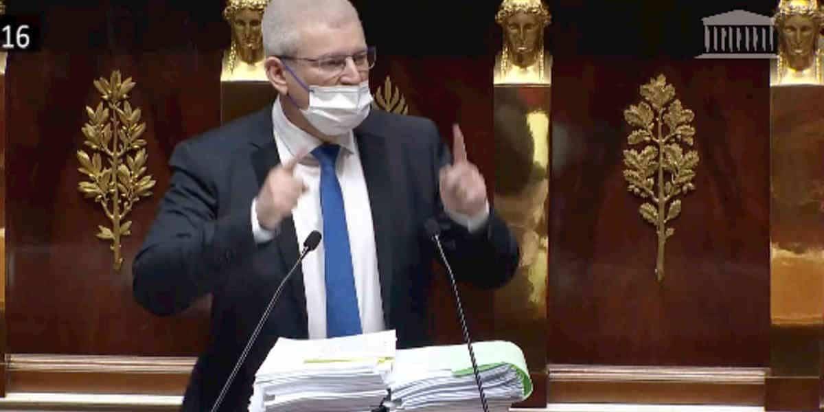 Euthanasie:  l'obstruction contre sa loi des députés LR et du ministre de la santé Olivier Véran