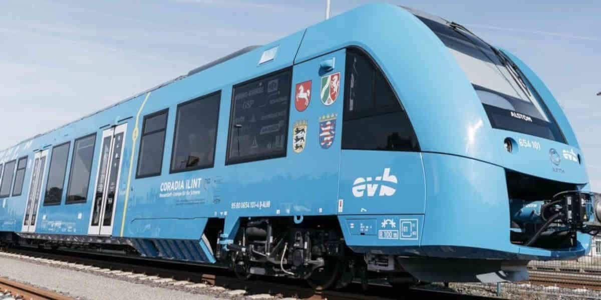 Des régions françaises passent une première commande de trains à hydrogène