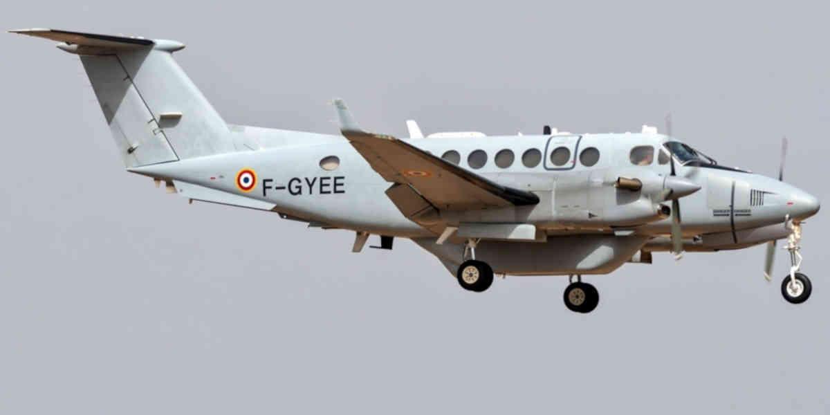 Le nouvel avion espion de l'armée française nommé Vador