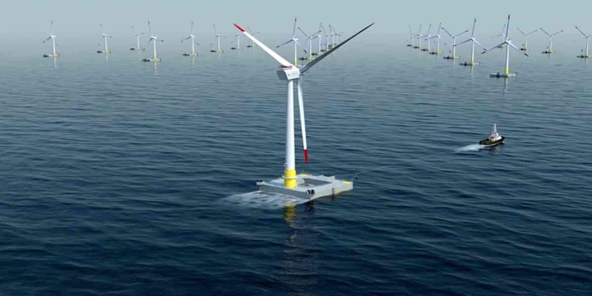 Parc éolien flottant, le gouvernement lance le projet dans le Morbihan