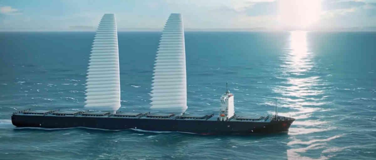 Michelin développe une voile d'aile gonflable pour les navires