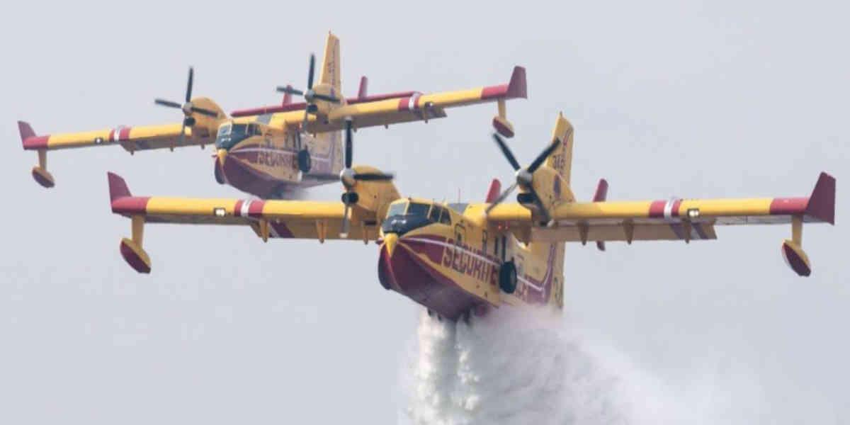 Une flotte européenne de Canadair et d'hélicoptères contre les incendies de forêts prend forme