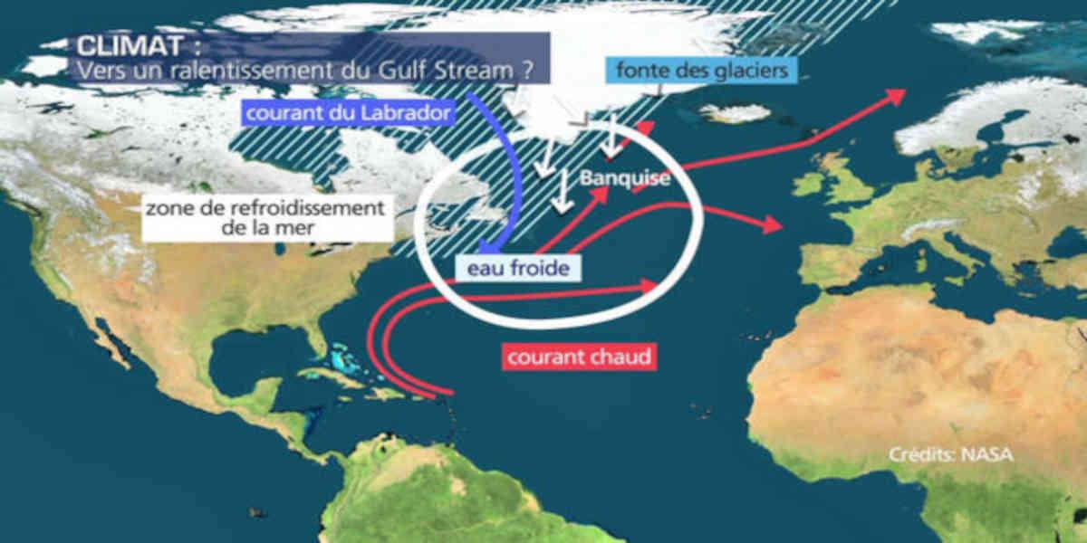Le Gulf Stream pourrait disparaître, selon des scientifiques, ce qui aurait des conséquences dévastatrices sur le climat