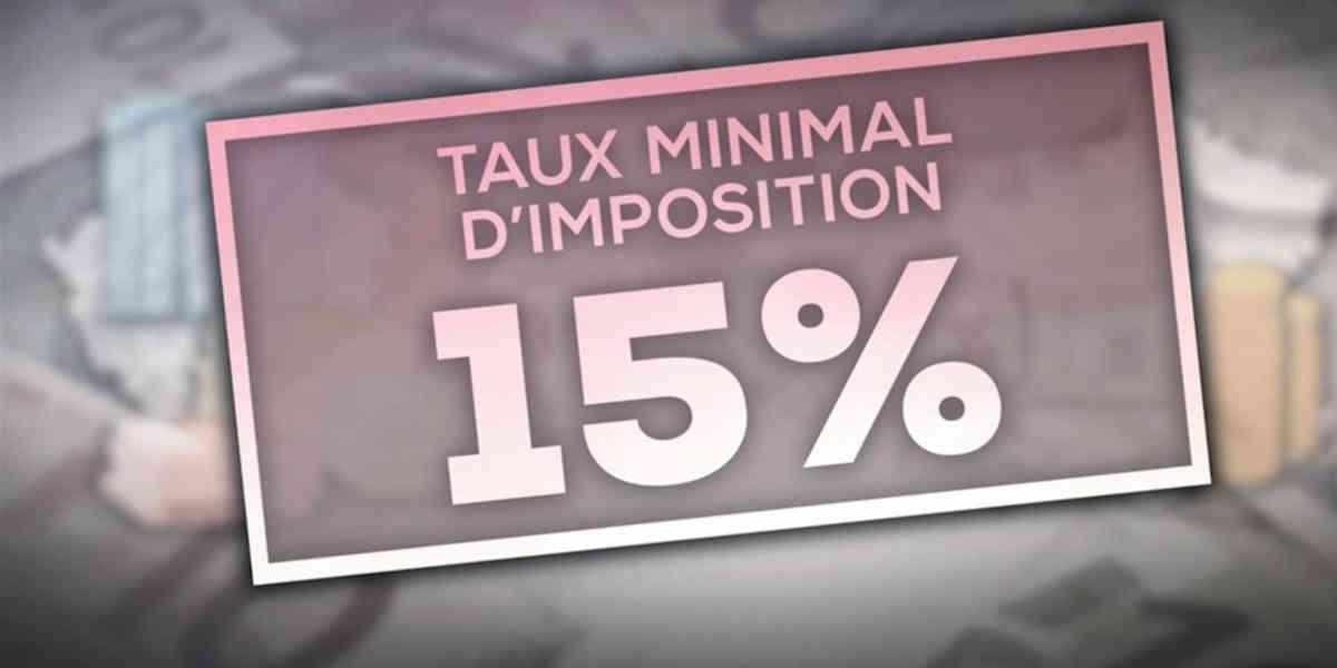 4 milliards d'euros c'est la somme que pourrait percevoir le fisc français avec une taxe de 15% sur les multinationales